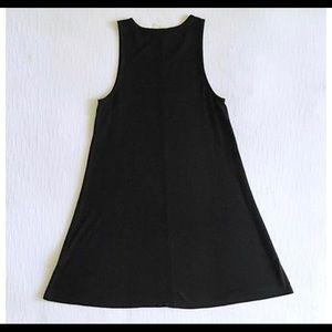 Madewell Highpoint Tank Dress in Black Size Medium